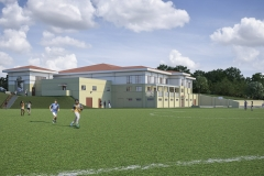 New Community School Exterior