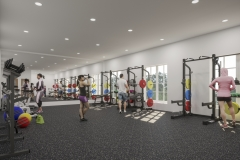 New Community School Weight Room