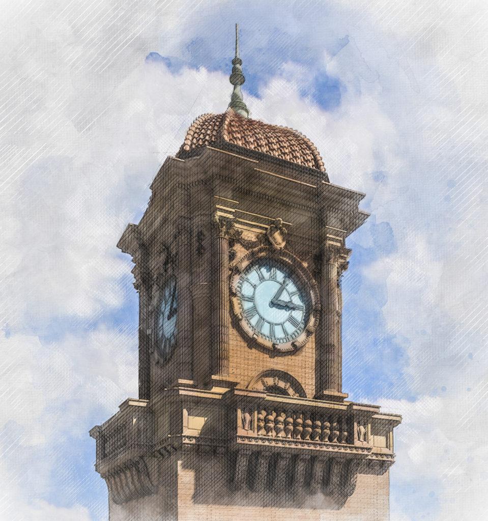 Main Street Station Clock Tower